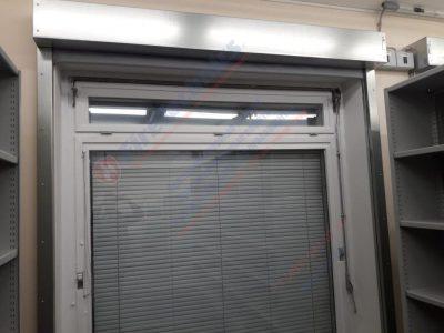 Противопожарные шторы FireTechnics EI60 без орошения на окна